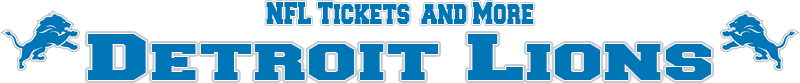 Detroit Lions Memorabilia, Tickets and More
